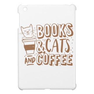 books cats and coffee iPad mini covers