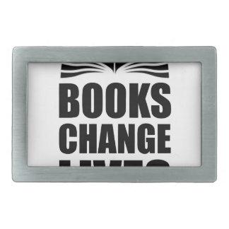 Books Change Lives Belt Buckle
