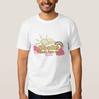 Books, Check em Out! - Customized Tee Shirts