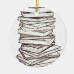Books Christmas Ornament