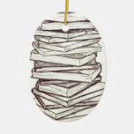 Books Christmas Ornaments