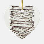 Books Christmas Tree Ornament