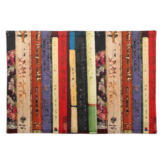 Books Cloth Placemat