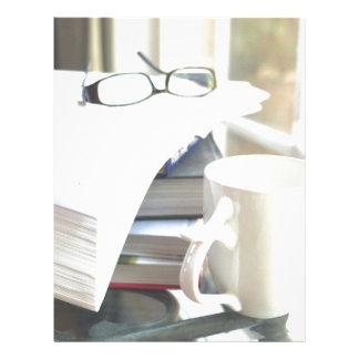 Books & Coffee: Need I Say More? Letterhead