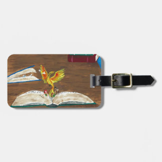 Books Coming Alive Travel Bag Tag