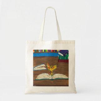 Books Coming Alive Tote Bag
