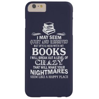 BOOKS CRAZY BARELY THERE iPhone 6 PLUS CASE