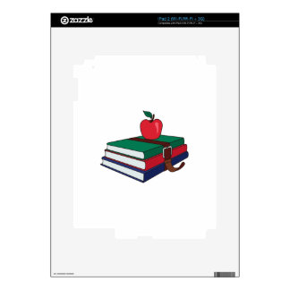 Books Decal For iPad 2