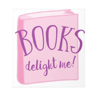books delight me notepad
