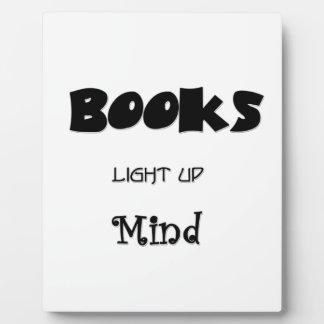 Books Enlighten Plaque