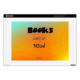 """Books Enlighten Skin For 15"""" Laptop"""