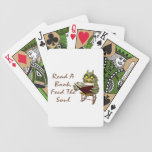 Books Feed The Soul Wise Owl Bicycle Card Decks