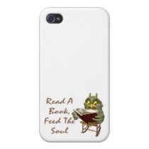 Books Feed The Soul Wise Owl iPhone 4/4S Cover