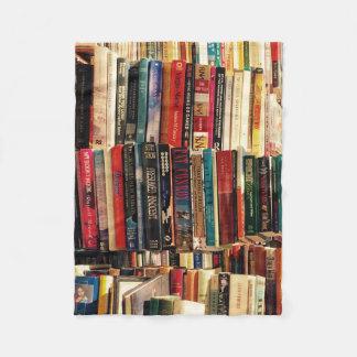 Books Fleece Blanket
