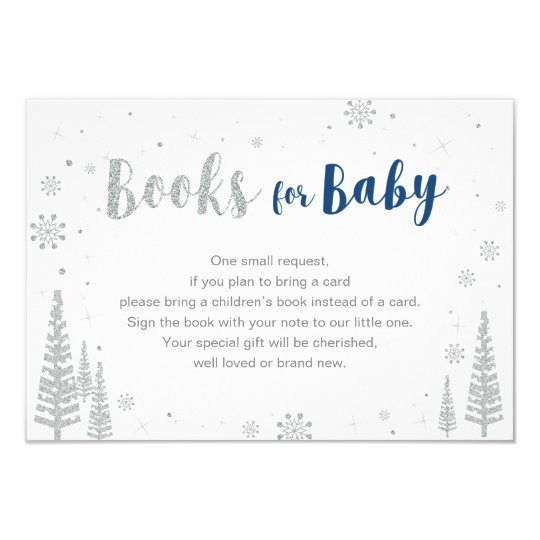 Books For Baby Book Request Baby Shower Activity Invitation