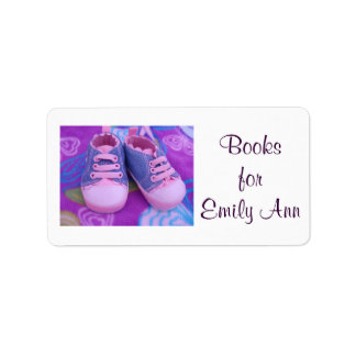 Books for Baby Child Kids Book Tags Labels Shoes