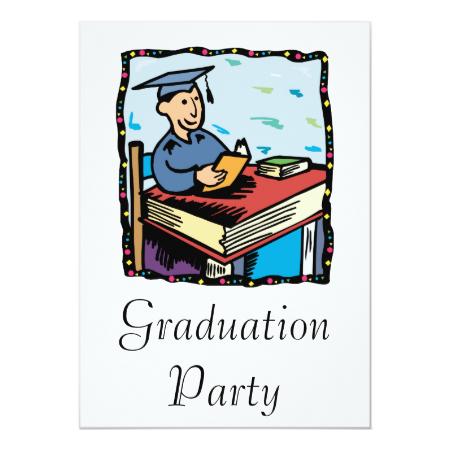 Books for Graduation Invitations