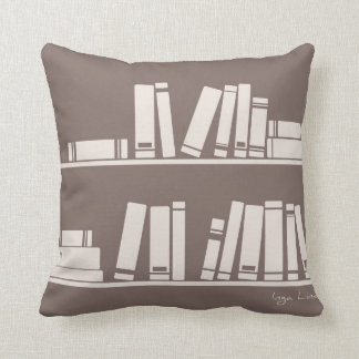 books for wise guy or reading lover pillow