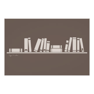 books for wise guy or reading lover poster