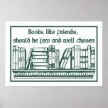 Books & Friends Print