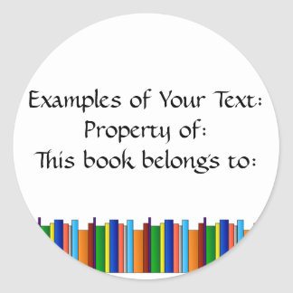 Books Galore Sticker