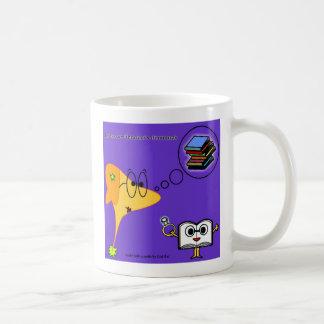 books geek mug