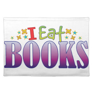 Books I Eat Cloth Placemat