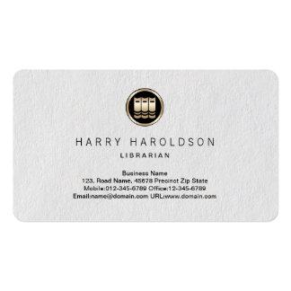 Books Icon Librarian Premium Business Card