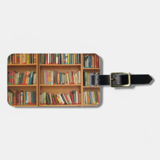 Books in the bookshelf bag tags