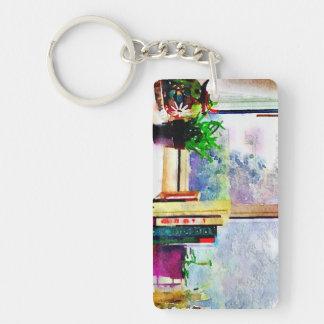Books In The Window Keychain