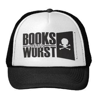 Books is the worst trucker hat