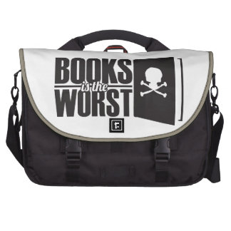 books is the worst laptop bag
