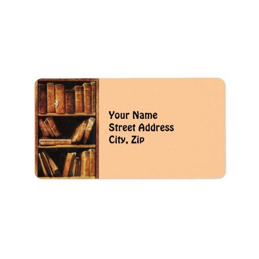 Books Custom Address Label