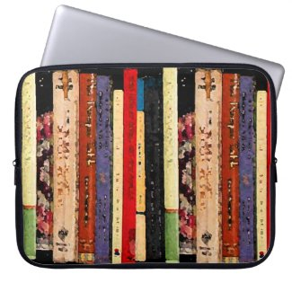 Books Laptop Computer Sleeves