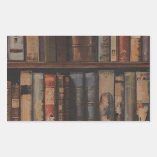 books large.gif rectangular sticker