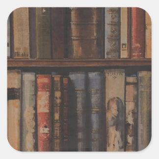 books large.gif square sticker