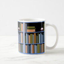 Books Learning Reading Book Shelves Teachers Coffee Mug