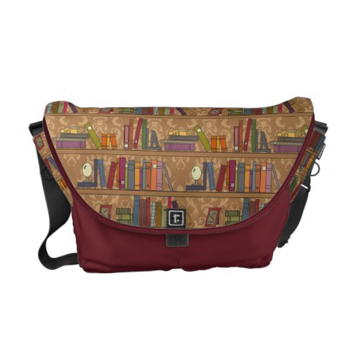 Books Library Courier Bag