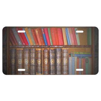 Books License Plate
