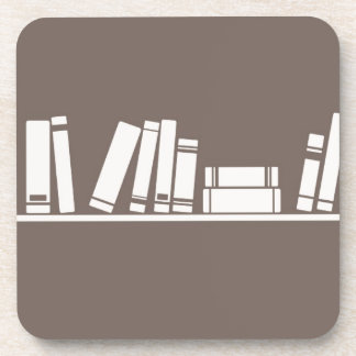Books lovers! drink coaster