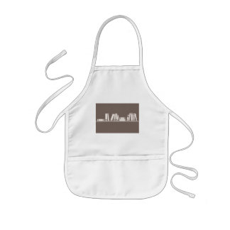 Books lovers! kids' apron