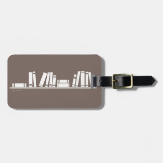 Books lovers! luggage tags