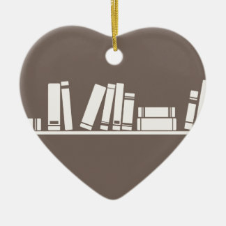 Books lovers! christmas tree ornaments