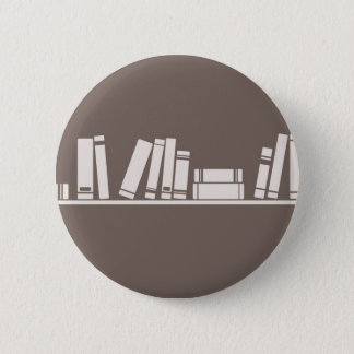 Books lovers! pinback button