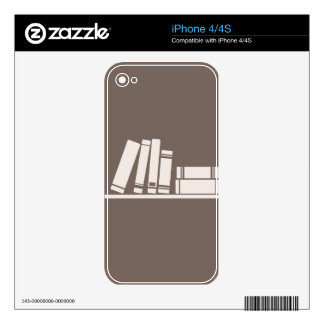 Books lovers skin for iPhone 4S