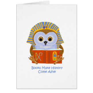Books Make History Come Alive Cards