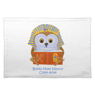 Books Make History Come Alive Cloth Placemat