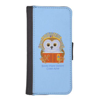 Books Make History Come Alive iPhone 5 Wallet