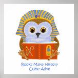 Books Make History Come Alive Posters