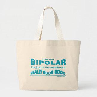 Books Make Me Bipolar Bags